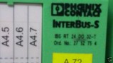 Phoenix contact InterBus-S 27 52 75 4 , 2752754 , BS RT 24 DO 32-T , BSRT24DO32-T (1)